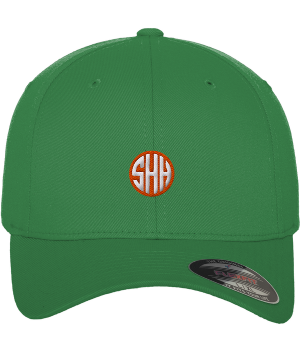 SHH Orange Label -  Fitted Baseball Cap (Small Logo)