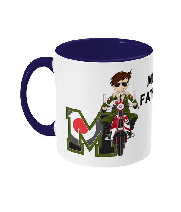 SHH Mod - Mod Man Two Toned Mug 'MOD FATHER'
