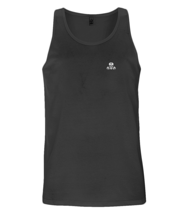 SHH Fitness - Black Skull Men's Vest