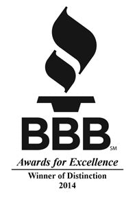 Natural Pawz Named BBB 2014 Winner of Distinction