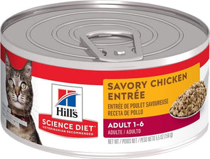 Hill's Science Diet Adult Savory Chicken Entree Canned Cat Food