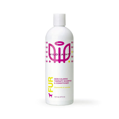 Wildsaint 2-in-1 Skin Soothing Dog Shampoo with Oatmeal, Chamomile, Avocado and Lavender