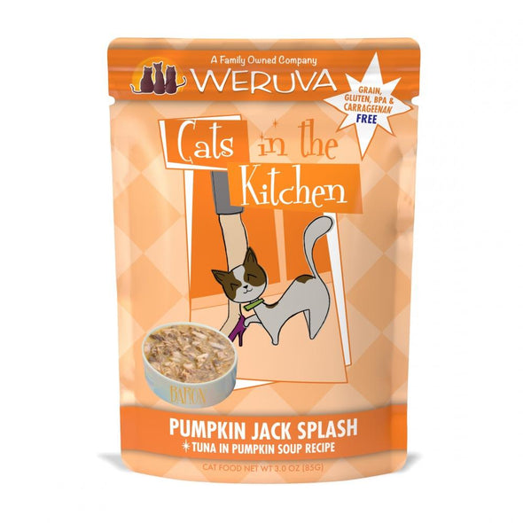 Weruva Cats In the Kitchen Pumpkin Jack Splash Pouches Wet Cat Food
