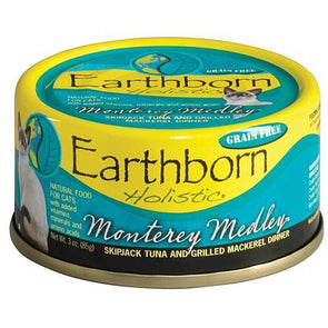 Earthborn Holistic Monterey Medley Grain Free Canned Cat Food