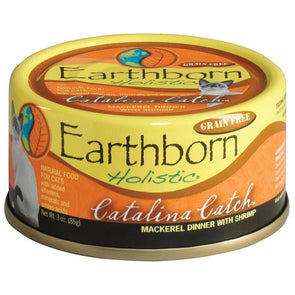 Earthborn Holistic Catalina Catch Grain Free Single Canned Cat Food