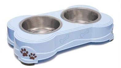 Loving Pets Dolce Diner Dishes-Bowl-Murano Blue