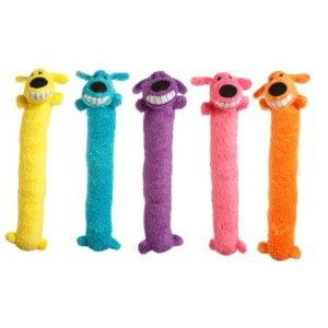 MultiPet Loofa-Assorted Colors 24 Inch Dog Toy