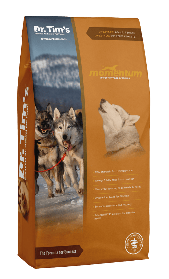 Dr. Tim's Momentum Highly Athletic Dry Dog Food