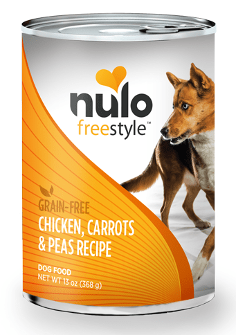 Nulo FreeStyle Grain Free Chicken, Carrots and Peas Recipe Canned Dog Food