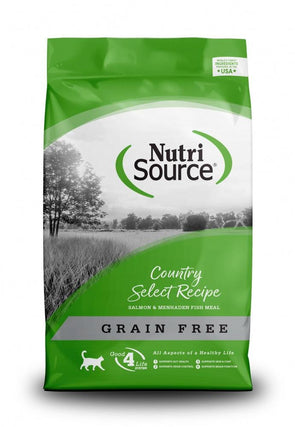NutriSource Grain Free Country Select Entree Dry Cat Food