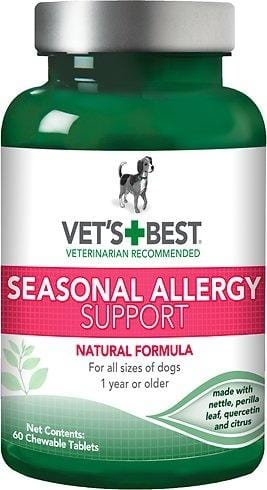 Vet's Best Seasonal Allergy Support Dog Supplement