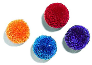 Ethical Pet Wool Pom Poms with Catnip Cat Toy