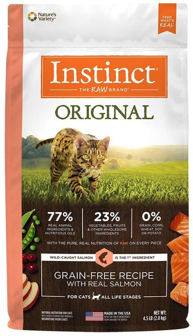 Instinct Original Grain Free Recipe with Real Salmon Natural Dry Cat Food