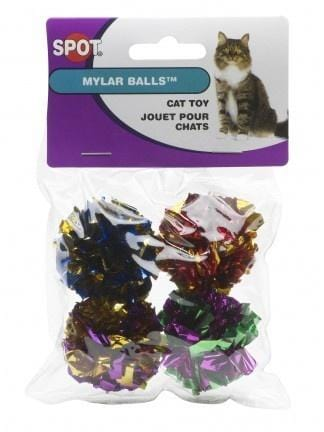Ethical Pet SPOT Mylar Balls Cat Toy