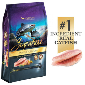 Zignature Limited Ingredient Diet Grain Free Catfish Recipe Dry Dog Food