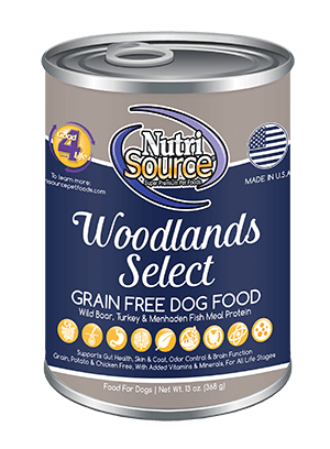 NutriSource Grain Free Woodlands Select Canned Dog Food