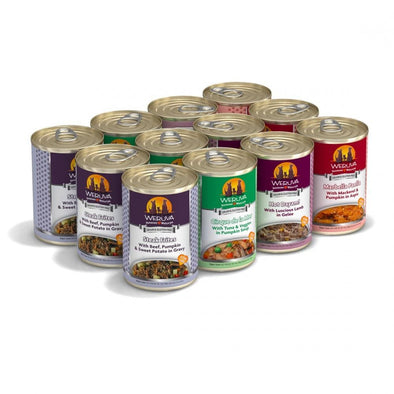 Weruva Classic Chicken Free, Just 4 Me Canned Dog Food Variety Pack