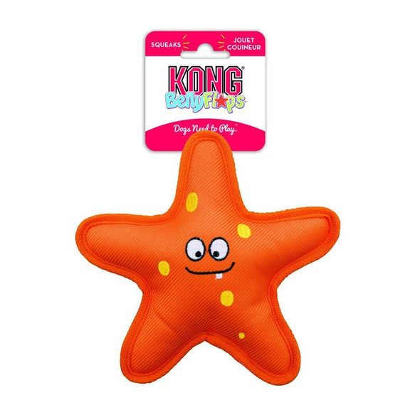 KONG Belly Flops Starfish Floating Dog Toy
