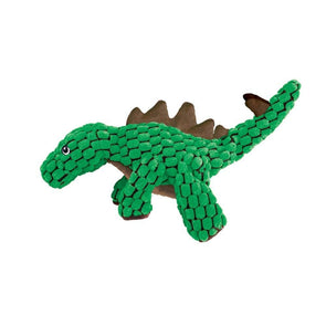 KONG Dynos Stegosaurus Plush Dog Toy