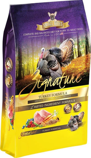 Zignature Small Bites Grain Free Turkey Formula Dry Dog Food