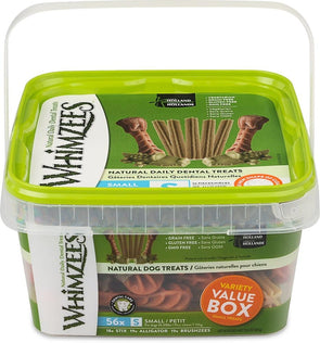 Whimzees Dental Chew Variety Pack Dog Treats
