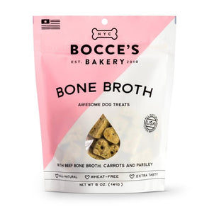 Bocce's Bakery Bone Broth Recipe Biscuit Dog Treats