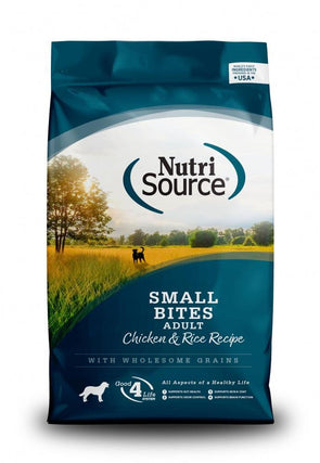 NutriSource Small Bites Chicken & Rice Recipe Dry Dog Food
