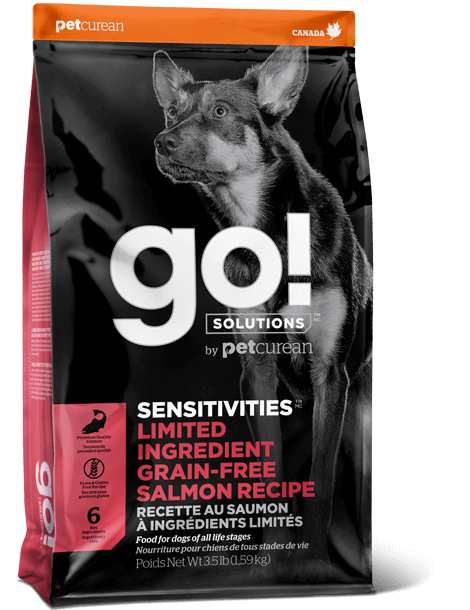 Petcurean GO! Solutions Sensitivities Limited Ingredient Salmon Recipe Dry Dog Food