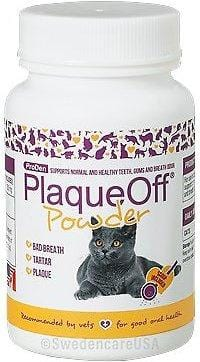 Proden PlaqueOff Dental Powder Supplement for Cats
