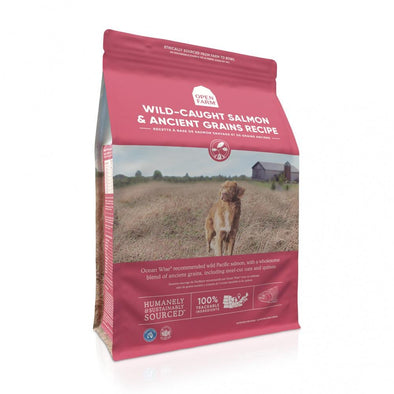 Open Farm Wild Caught Salmon & Ancient Grains Dry Dog Food