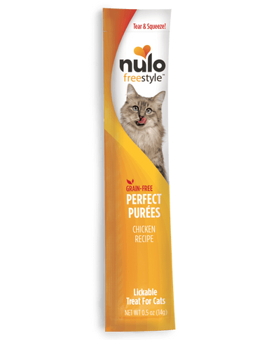 Nulo FreeStyle Perfect Puree Chicken Recipe Lickable Cat Treats