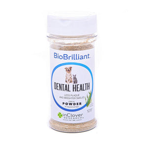 InClover BIoBrilliant Dental Health Powder Supplement for Dogs and Cats