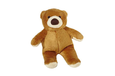 Fluff and Tuff Cubby Bear Plush Dog Toy