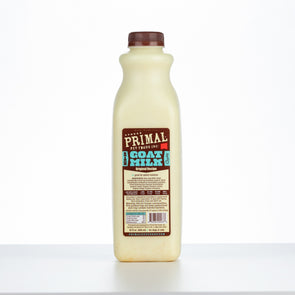 Primal Original Raw Frozen Goat Milk Bowl Booster for Cats and Dogs
