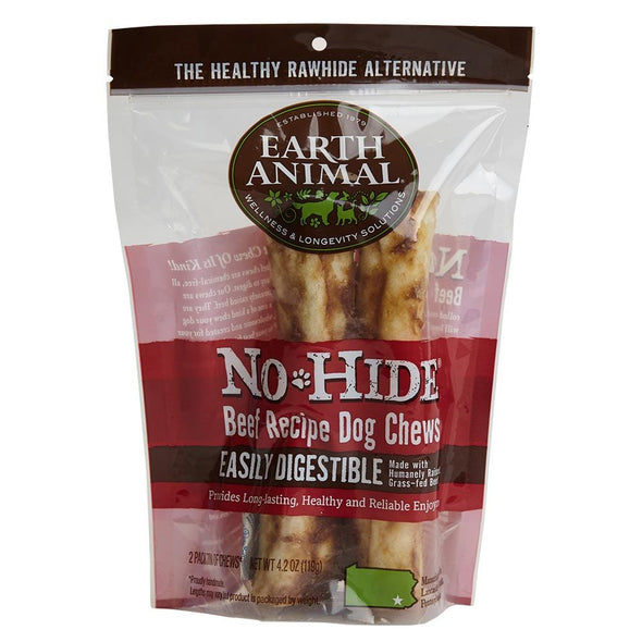 Earth Animal 2-Pack No-Hide Beef Chew Dog Treats