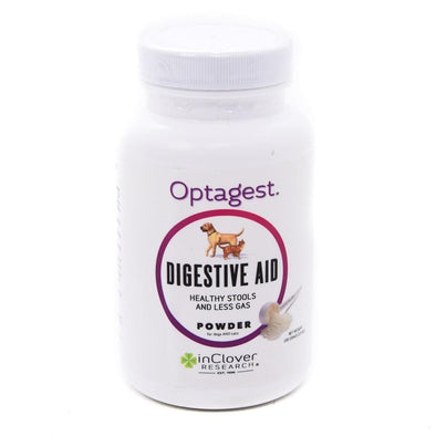 InClover Optagest Digestive Aid Powder Supplement for Dogs and Cats