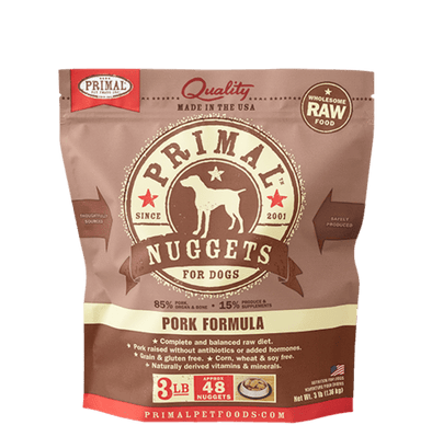 Primal Raw Frozen Pork Formula For Dogs