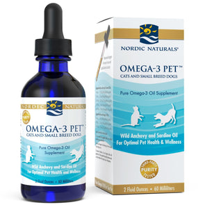 Nordic Naturals Omega-3 Pet Oil Supplement for Dogs and Cats