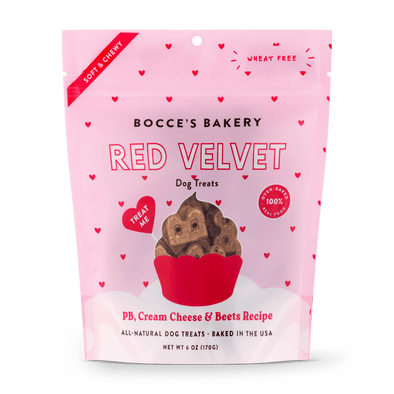 Bocce's Bakery Red Velvet Soft & Chewy Dog Treats