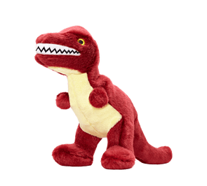 Fluff and Tuff Tiny T-Rex Plush Dog Toy