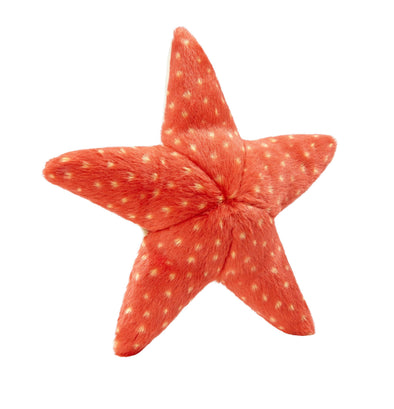 Fluff and Tuff Ziggy Starfish Plush Dog Toy