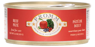 Fromm Four-Star Beef Pâté Canned Cat Food
