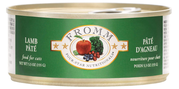 Fromm Four-Star Lamb Pâté Canned Cat Food