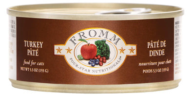 Fromm Four-Star Turkey Pâté Canned Cat Food