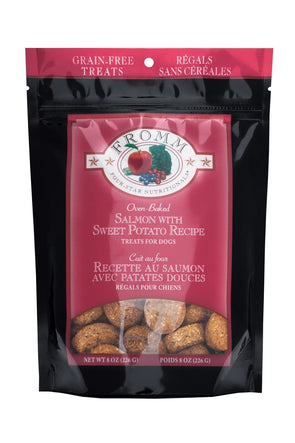 Fromm Four Star Nutritionals Grain Free Salmon with Sweet Potato Dog Treats