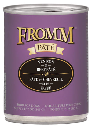 Fromm Venison & Beef Pâté Canned Dog Food