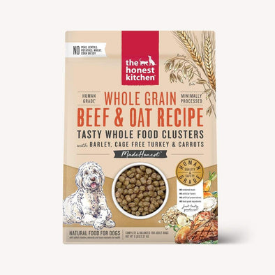 The Honest Kitchen Whole Food Clusters - Whole Grain Beef & Oat With Turkey Dry Dog Food