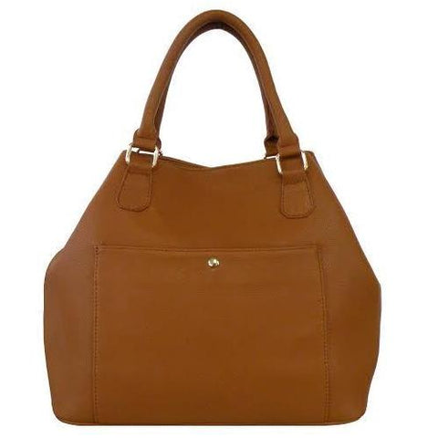 Fashion Solid Color Top Handle  Bag