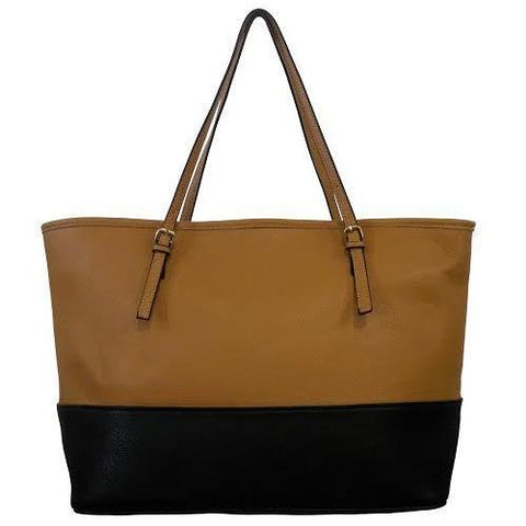 Two Tone Classic Tote Bag