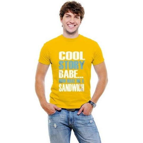 Cool Story Babe Mens T-shirt